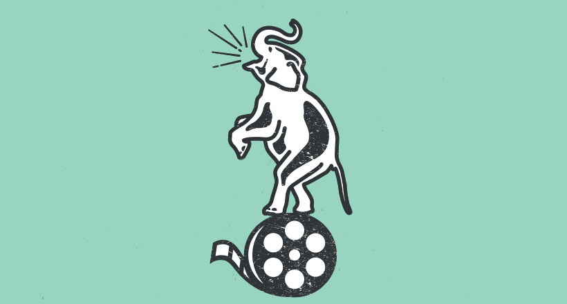 elephant logo for production