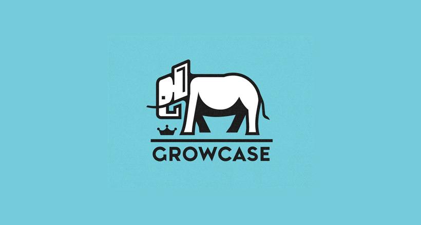 Growcase Elephant Logo