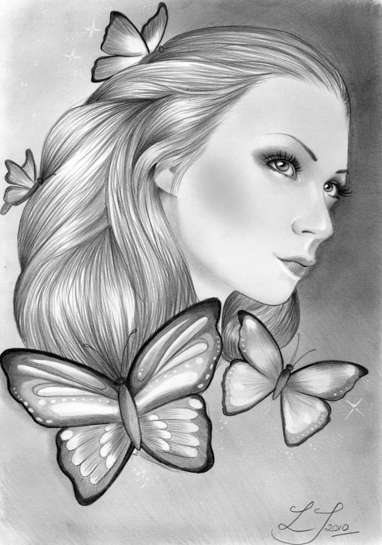 18 Butterfly Drawings Art Ideas Design Trends