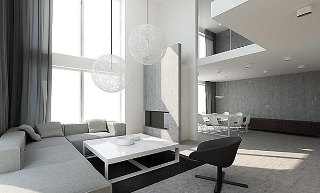 16 modern living room designs decorating ideas design for Minimal living room decor