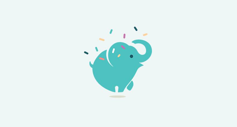 mint elephant logo