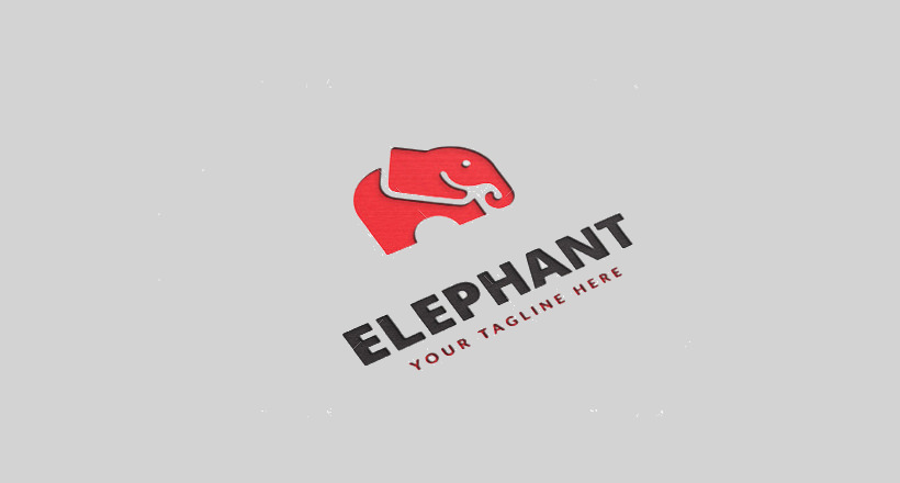red elephant logo