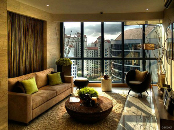 Inspiring Living Room Window Design