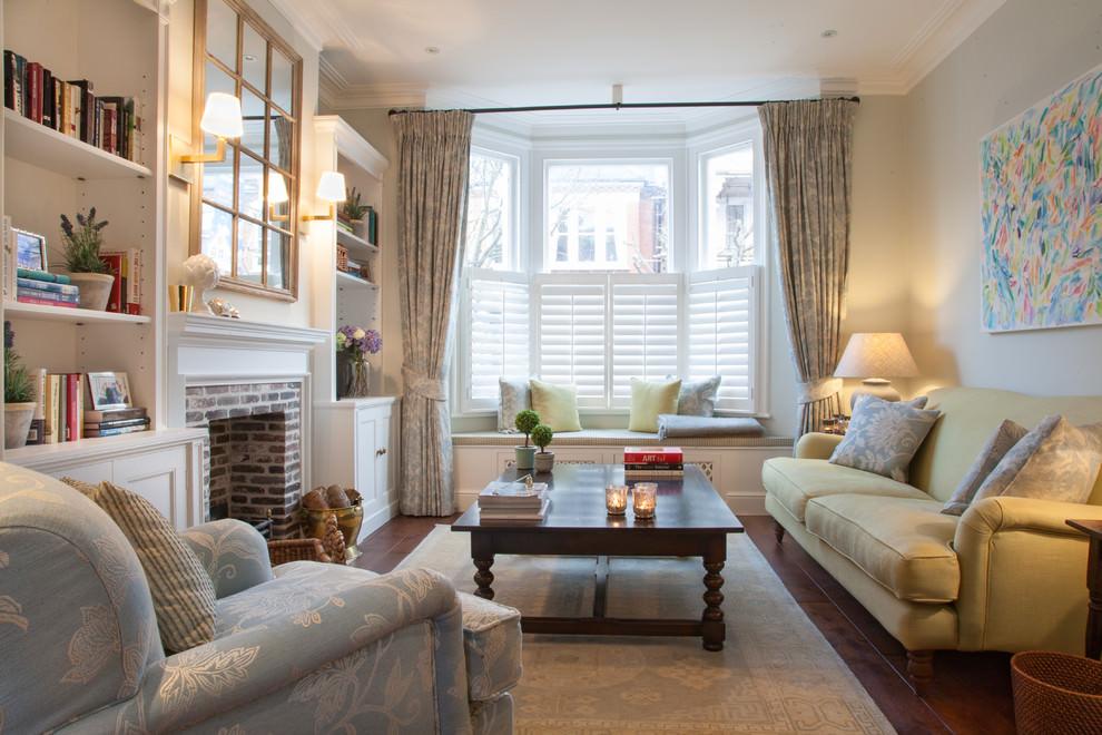 Elegant Square Living Room
