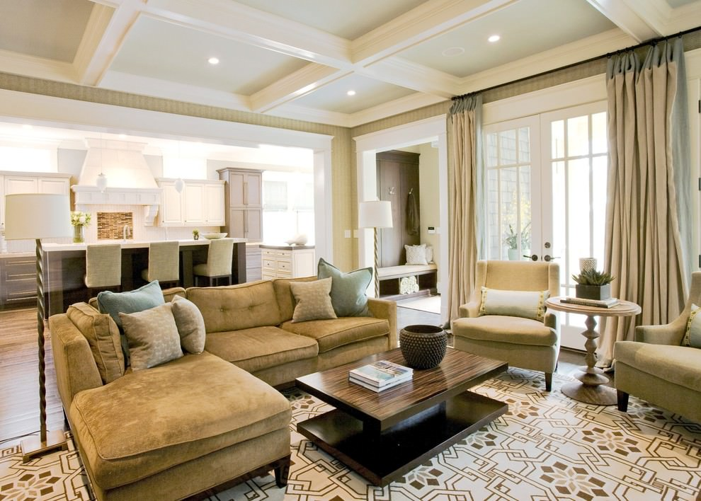 Furniture placement in large square living room new blog for Square room furniture placement