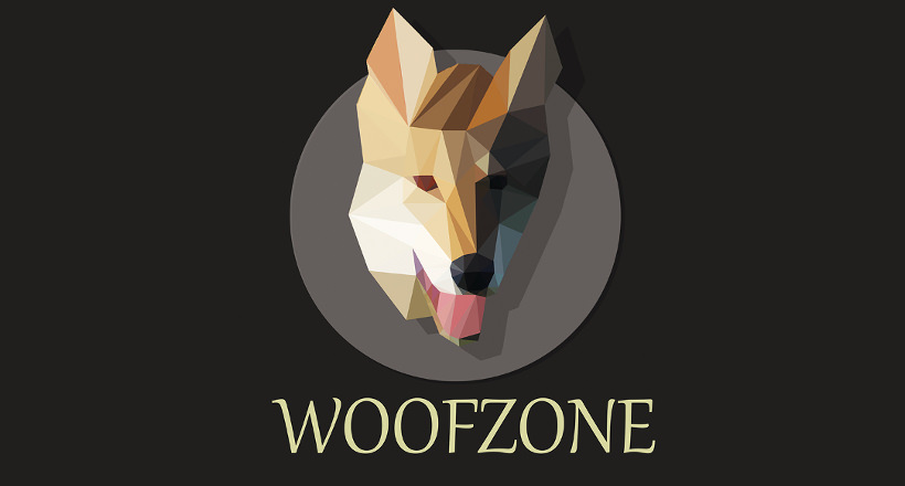 woofzone dog logo