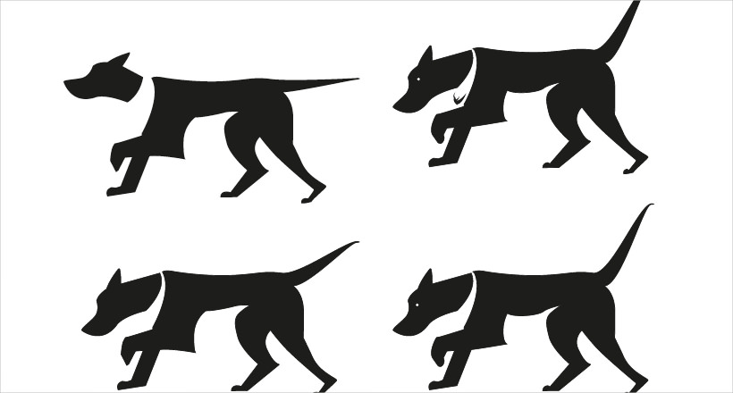 Brave Dog Black Logo