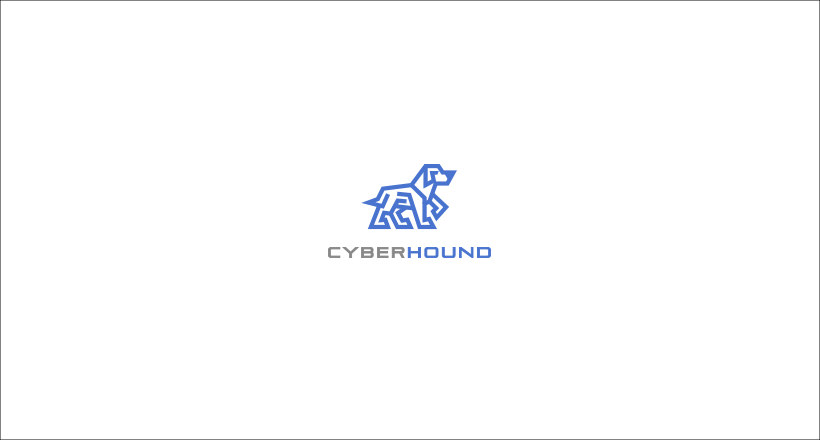 Cyberhound Logo design
