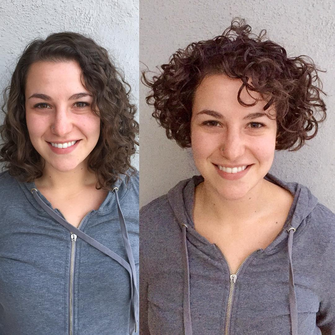 Short Curly Hair Style