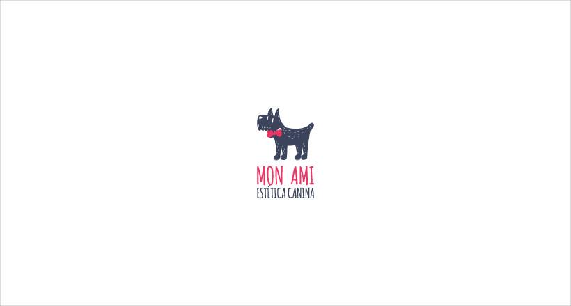 mon ami design logo