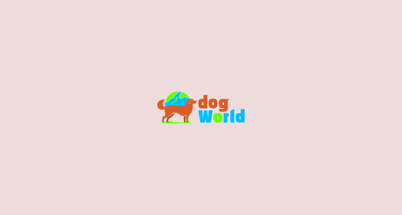 colorful dog world logo