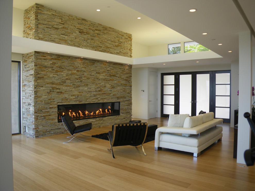 Smart Narrow Living Room Design