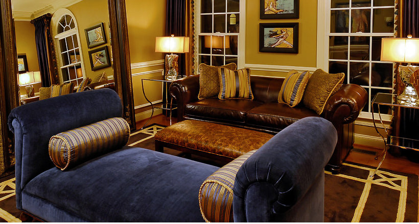img. Blue and brown living room ... & 20+ Blue and Brown Living Room Designs Decorating Ideas | Design ...