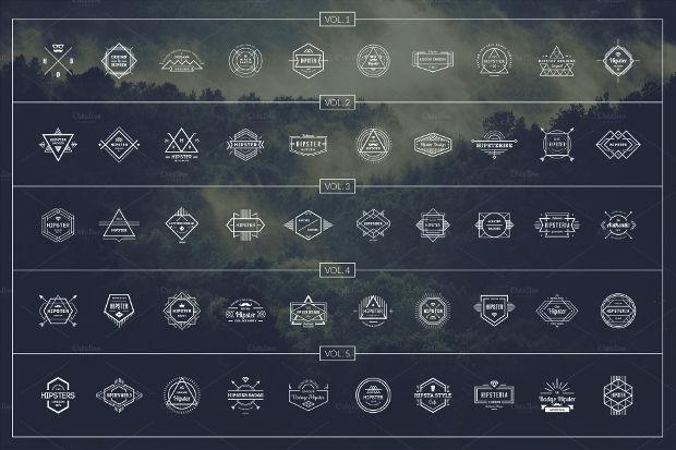 50 Hipster Logo Designs