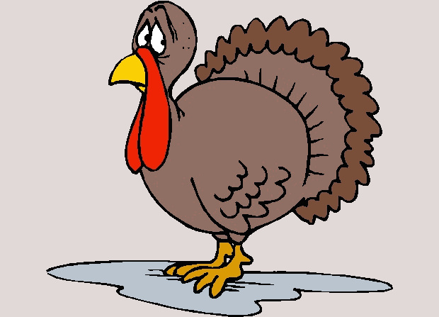 Brown Turkey Clipart