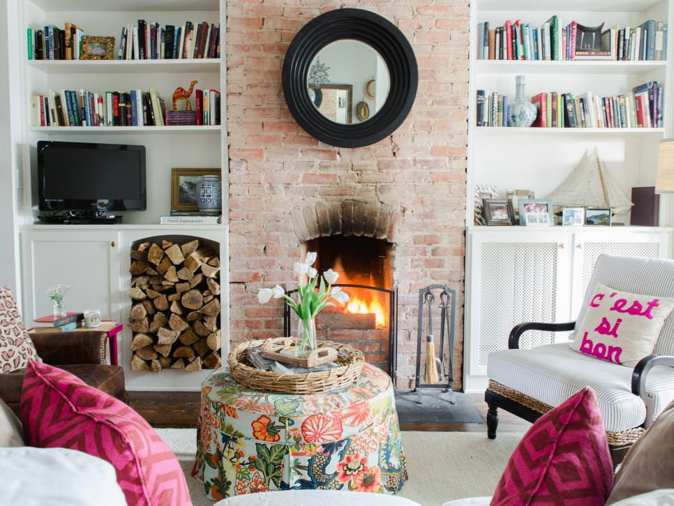 20 Living Room Fireplace Designs Decorating Ideas