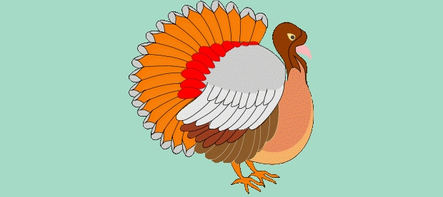 Awesome Turkey Clipart