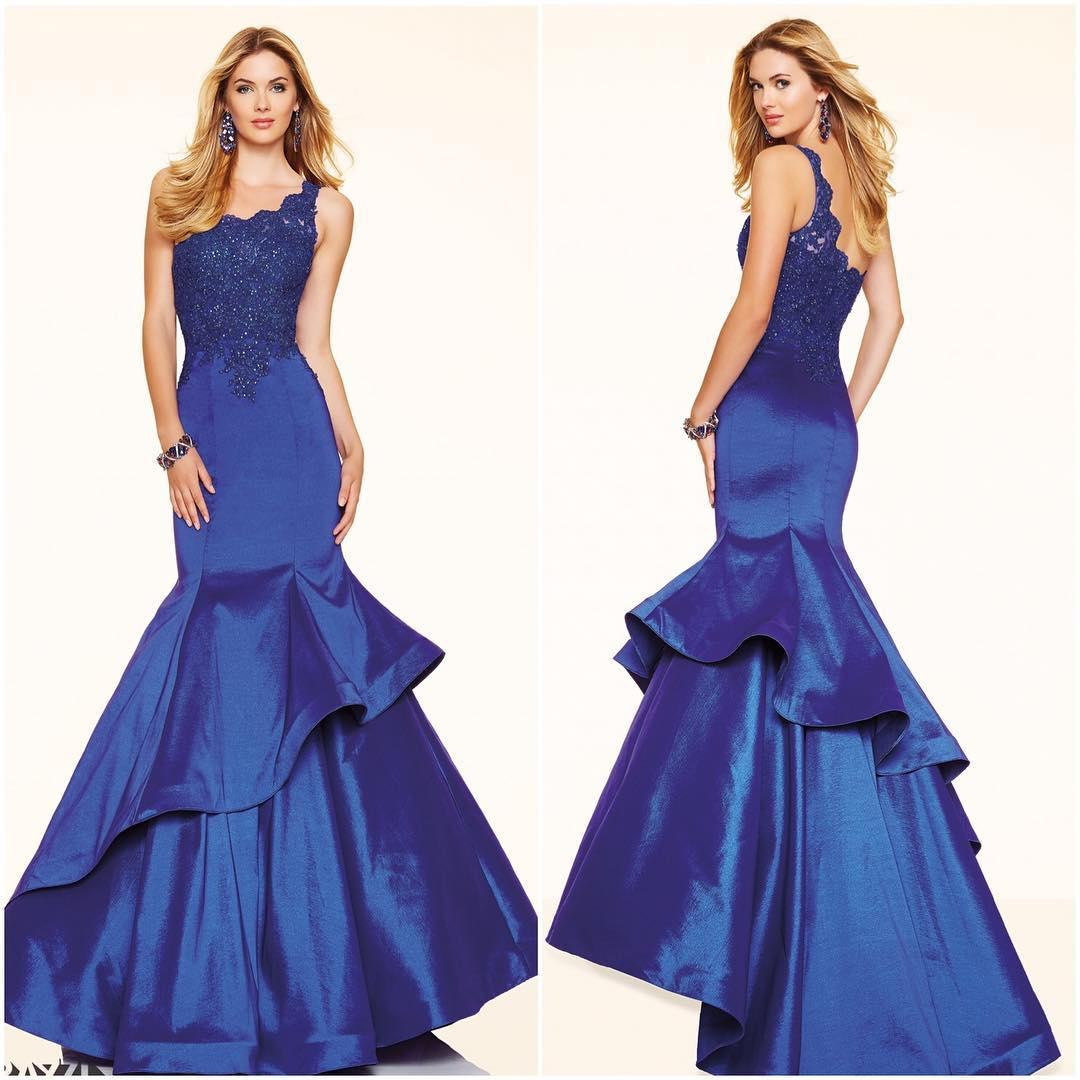 Grand Blue Color Dress