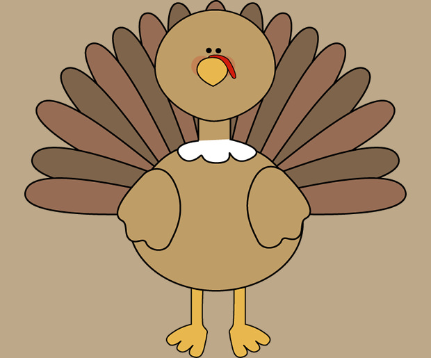 Simple Turkey Clipart