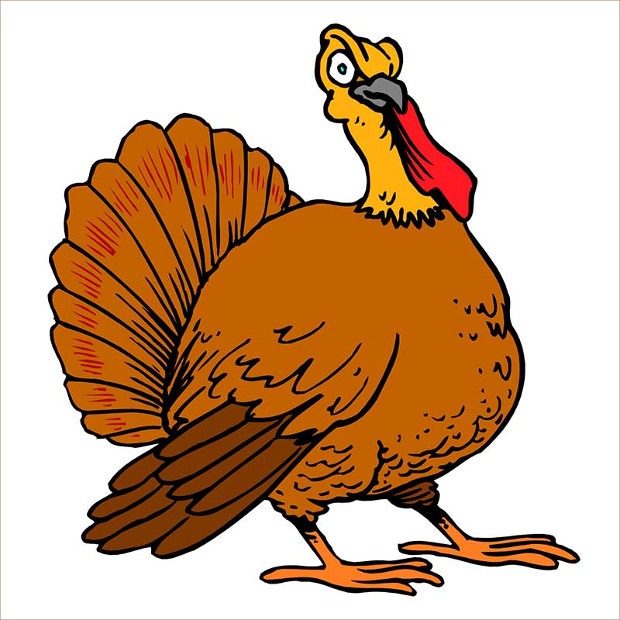 Strong Turkey Clipart
