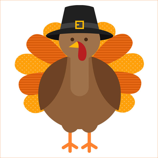 Hat Turkey Clipart