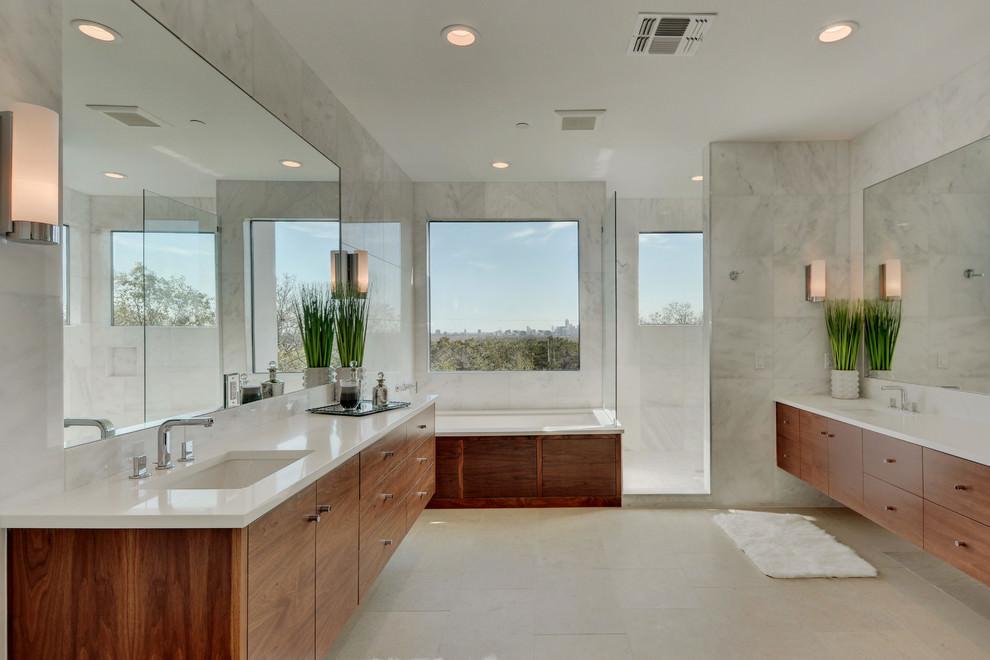 Calm Spa Bathroom Design