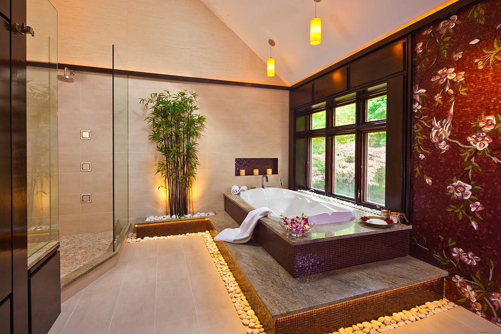 peaceful spa bathroom design - Spa Bathroom Design Pictures