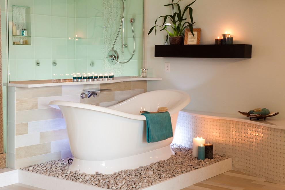 Elegant Spa Bathroom Design