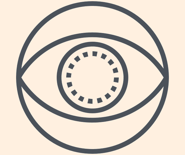 eye lens icon