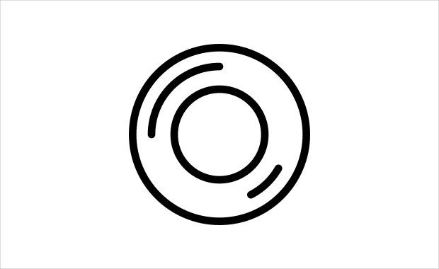 Photographic Len Icon Design