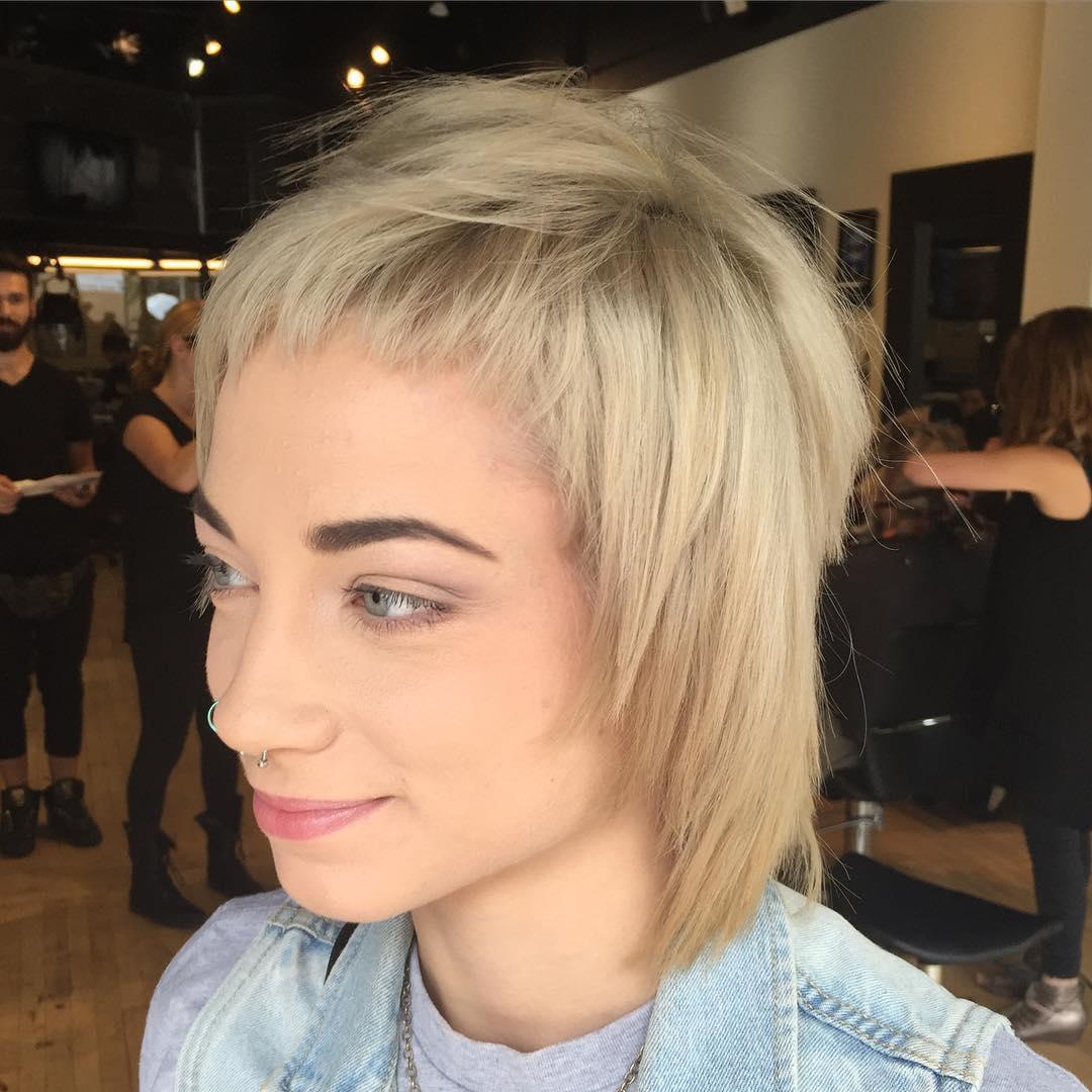 Modern Shag Hair Style
