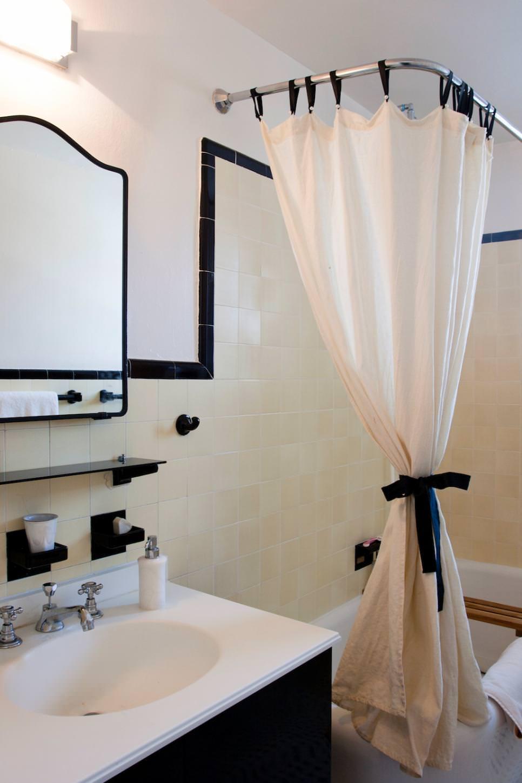 Sophisticated White Bathroom Design