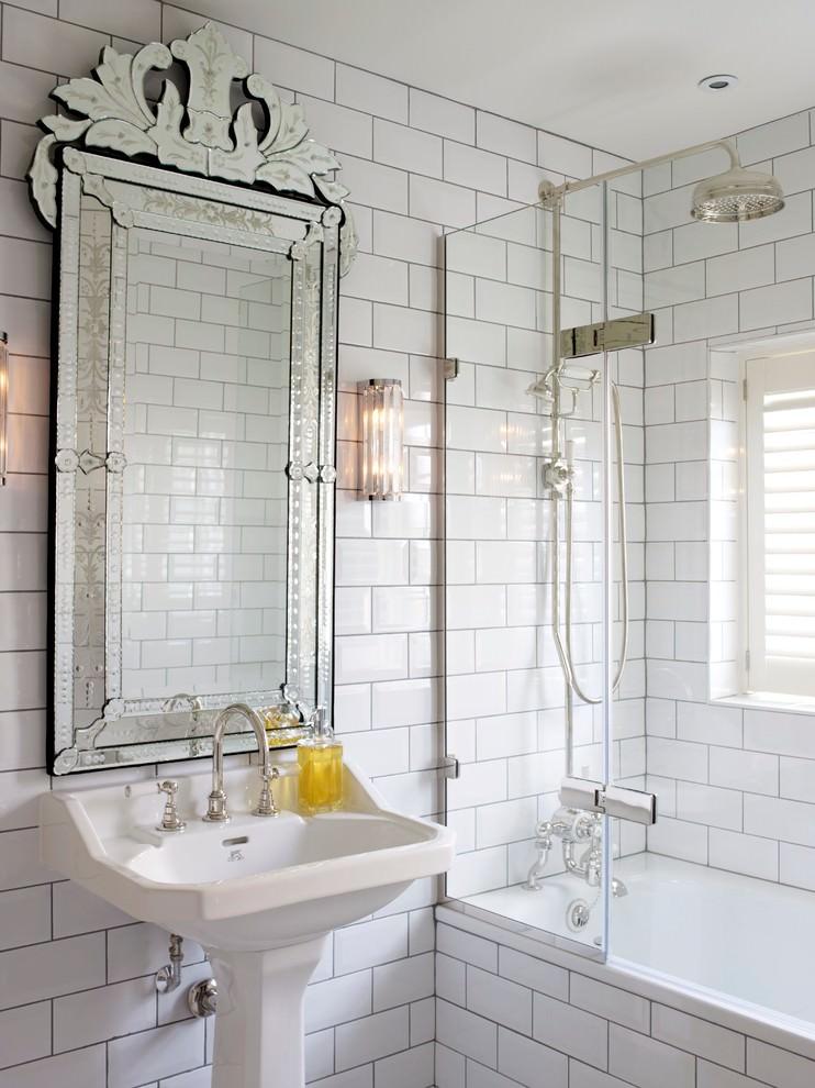 Royal White Bathroom Design