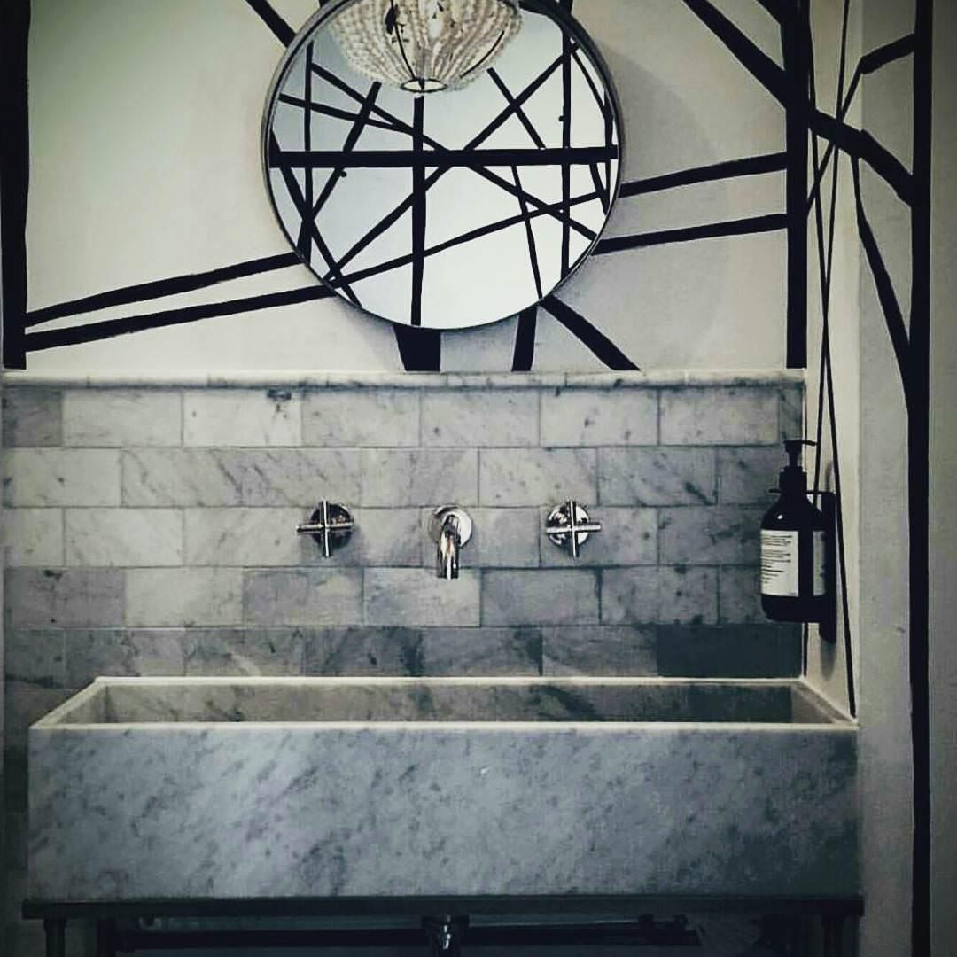 Grey Granite Bathroom Design