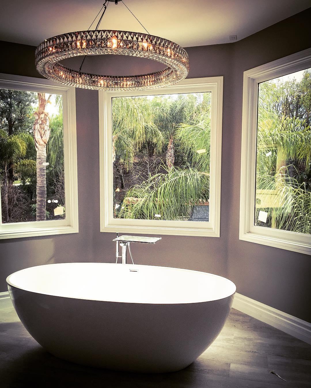 Beautiful Grey Bathroom Design