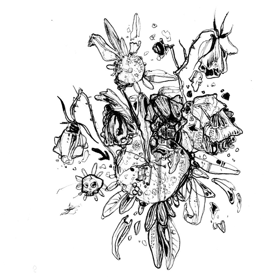 21 Flower Drawings Art Ideas Sketches Design Trends