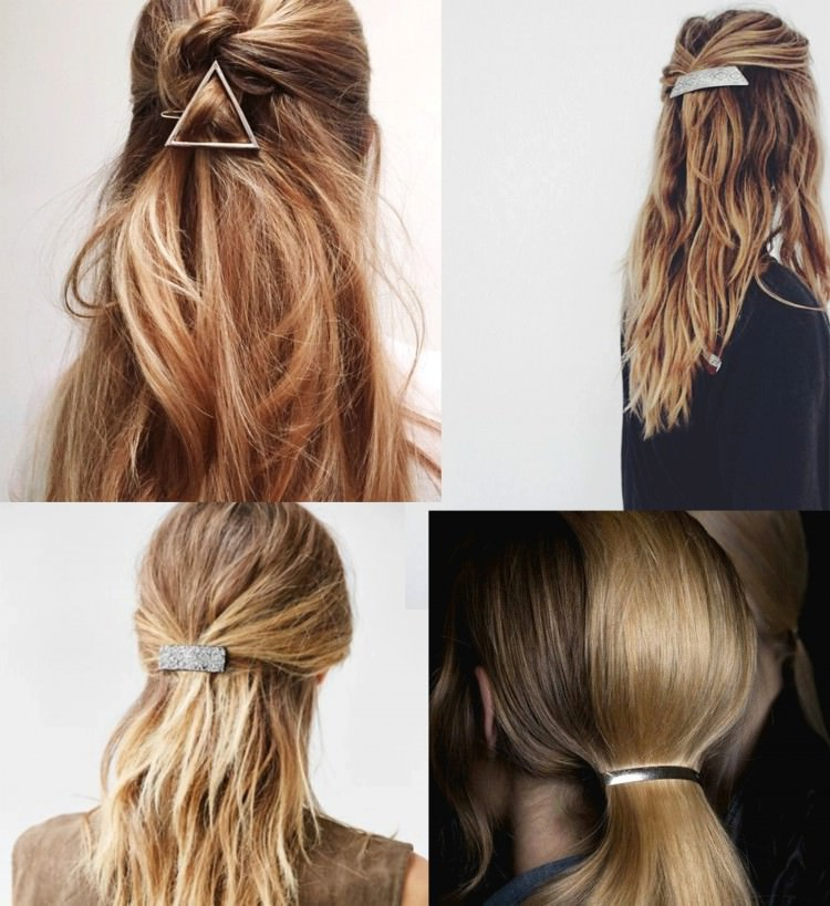 Acessories for long hairstyles