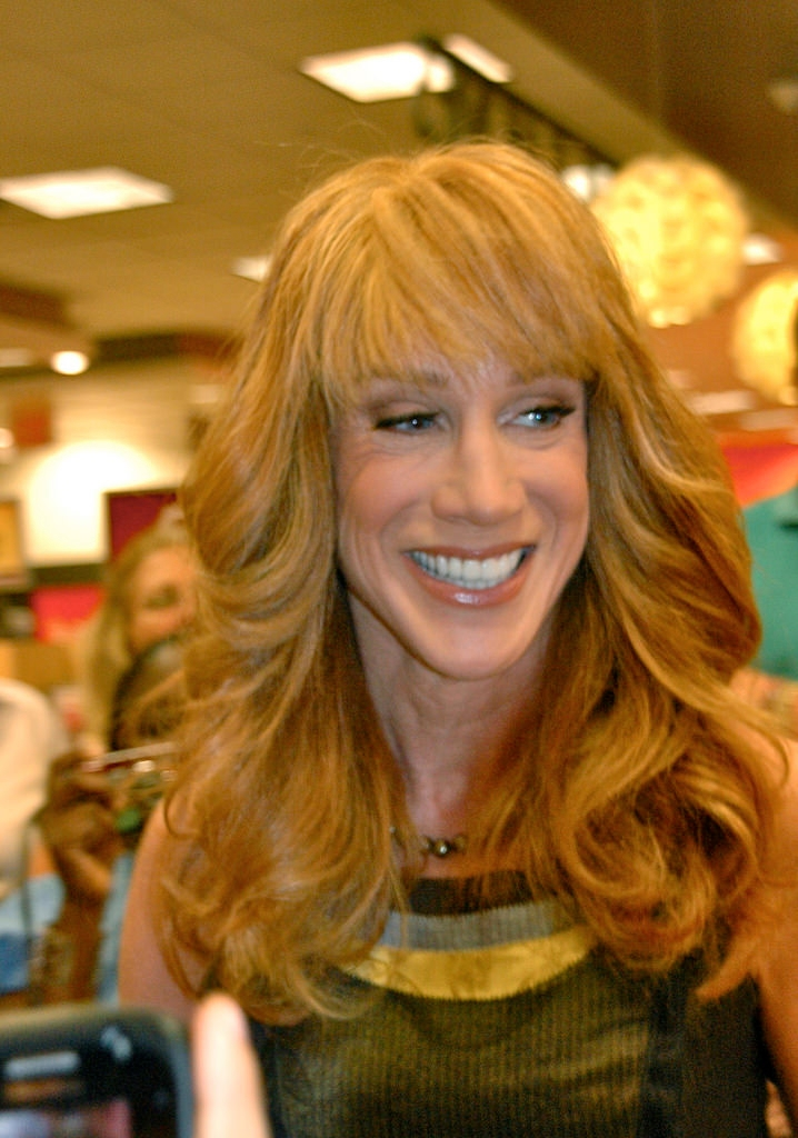Kathy Griffin Rock with Bangs