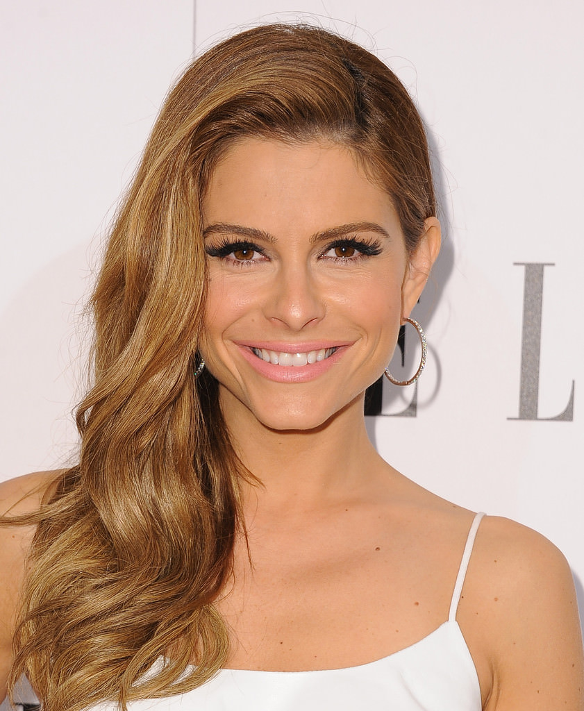 Maria Menounos Lush Curls Hairdo