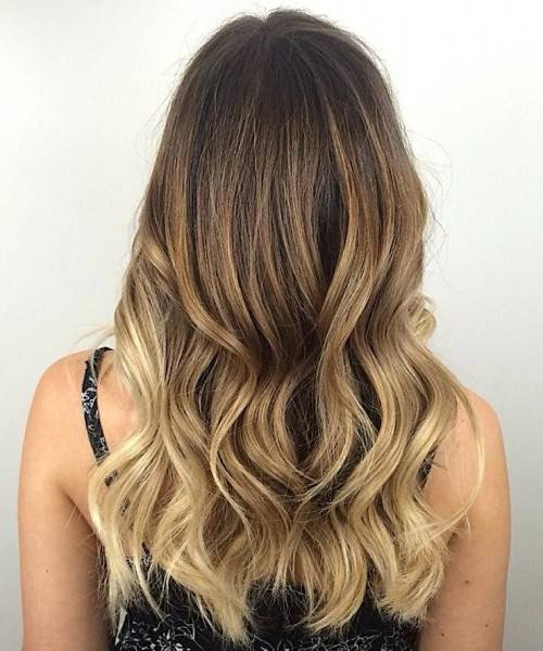 multi toned layers framing hairstyle