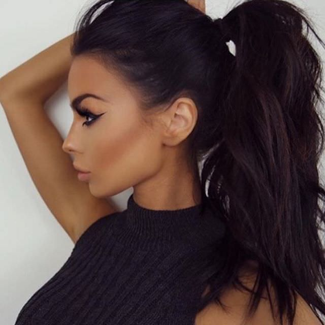 nice bouncy ponytail