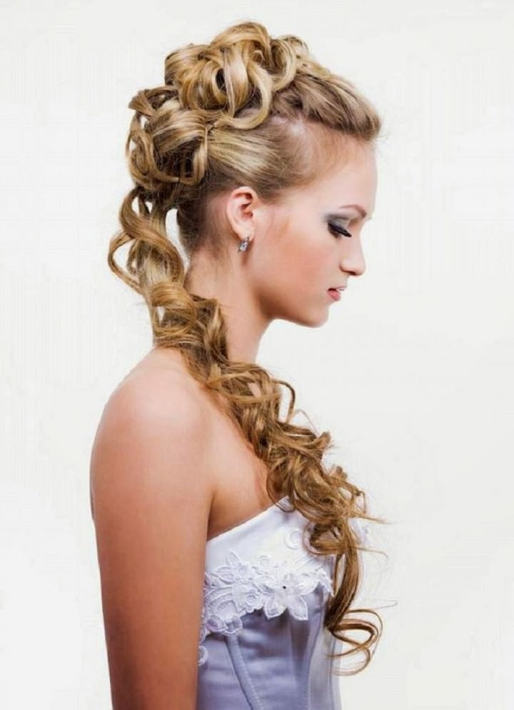 Prom hairstyles for long hair updo
