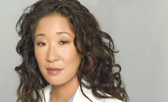 Sandra Oh's Shaggy Haircut