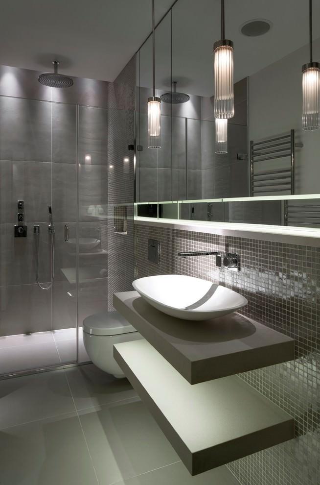 Stylish Grey Bathroom