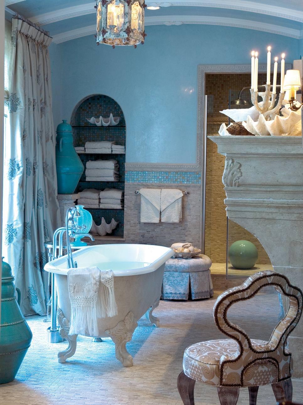 20 Blue Bathroom Designs Decorating Ideas Design