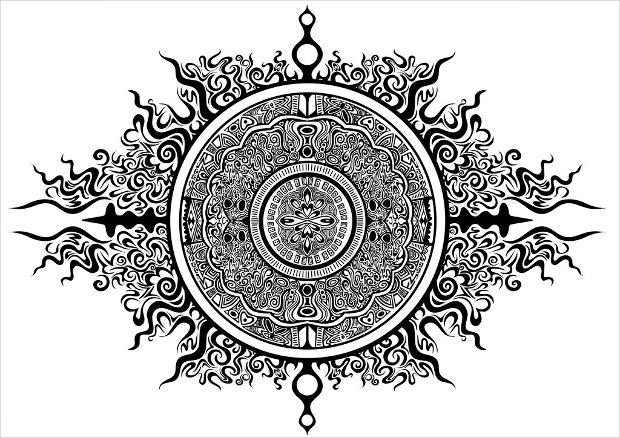 amazing designed circle