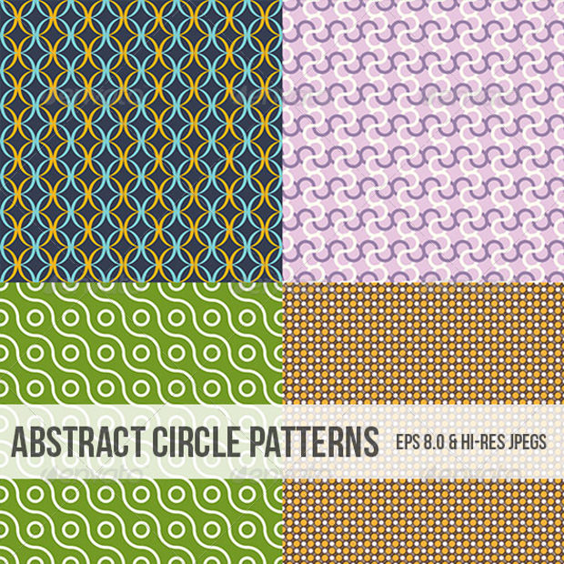 Abstract Patterns of Circle