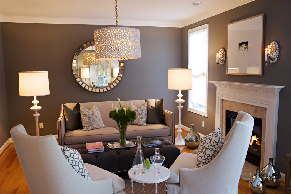 Exceptional Small Formal Traditional Living Room