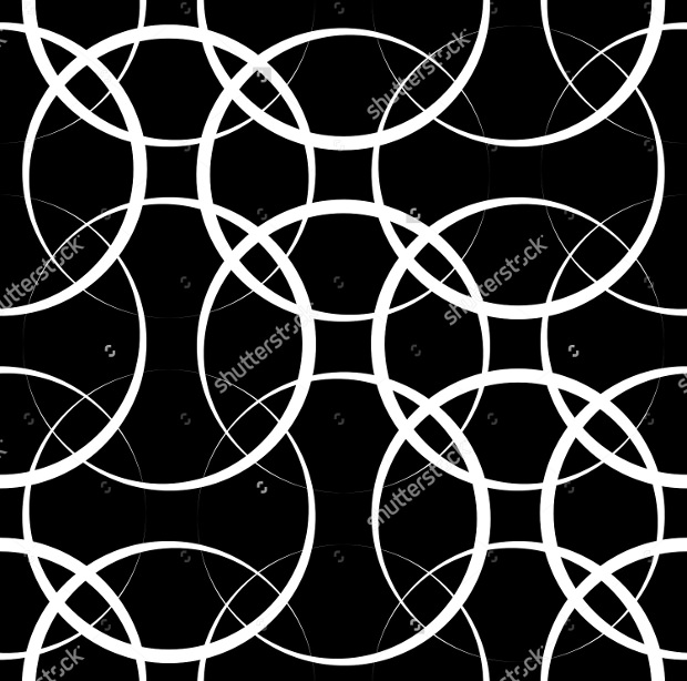 White Circles on Black