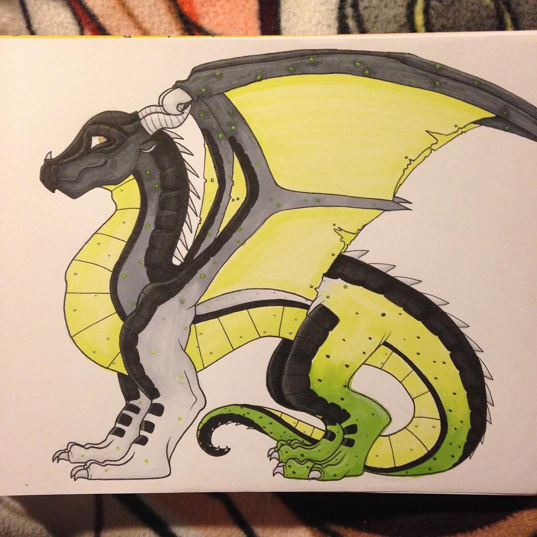 Tales of Heaven Dragon Drawing
